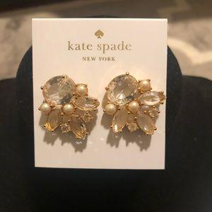 Kate Spade Chantilly Lace studs